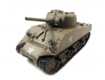 Mato 1:16 Complete 100% Metal M4A3(75)W Sherman Tank (Recoil,Army Green,Ready to Run)