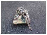 New 1:16 King Tiger Custom Paint Camo with Zimmerit Metal Upgrades included