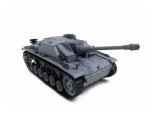 NEW 2.4G 1:16 R/C S&S Grey Stug Ausf F/8 III Tank(Super Version)